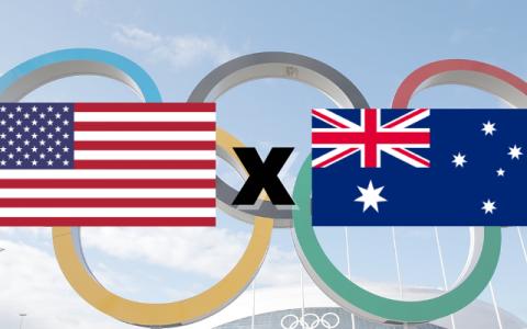 Estados Unidos e Austrália se enfrentam pelo futebol feminino