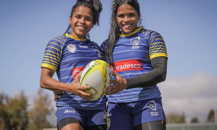 Maranho's twins are the arms of national rugby at the Olympics.