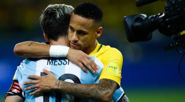 Notably, Messi has more goals and titles over Neymar