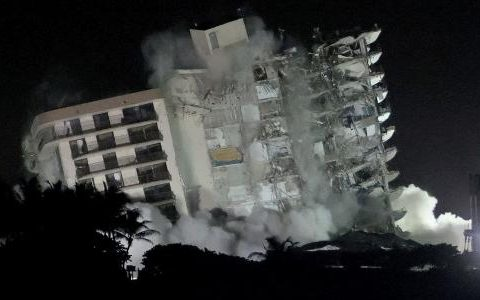 Search ends for victims of surfside building collapse