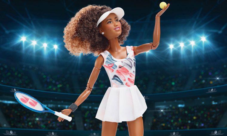 Boneca Barbie da tenista Naomi Osaka