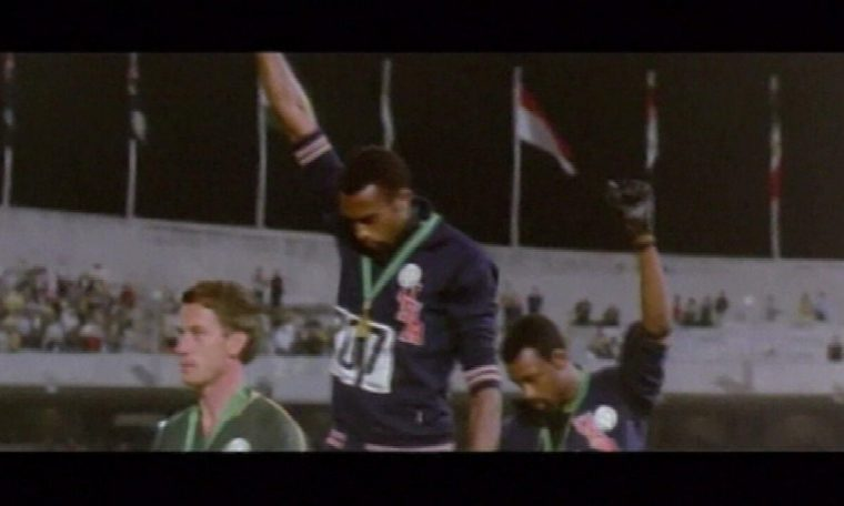 The protests that mark the history of the Olympics to this day resonate and fuel tensions.  Fantastic