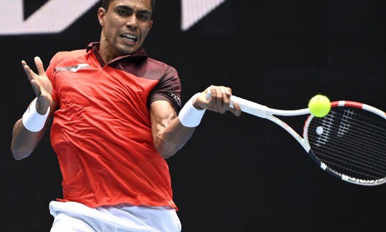 Thiago Monteiro falls in singles