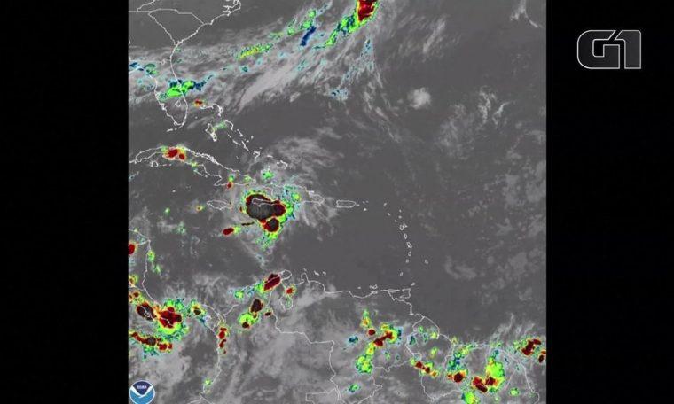 Tropical Storm Elsa hit the coast of Jamaica with heavy rain and headed for Cuba.  world