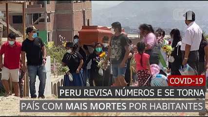 VIDEO: Peru revises Covid-19 numbers and becomes country with more deaths per resident