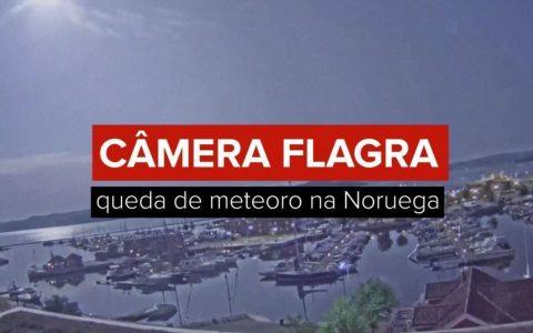 VIDEO: Camera caught meteor crash in Norway |  World