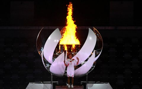 With Naomi Osaka lighting up the Olympic parade, the Tokyo Games have officially opened
