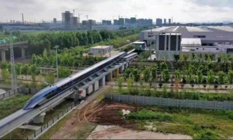 World's first 600kmph magnetic levitation train rolls off assembly line