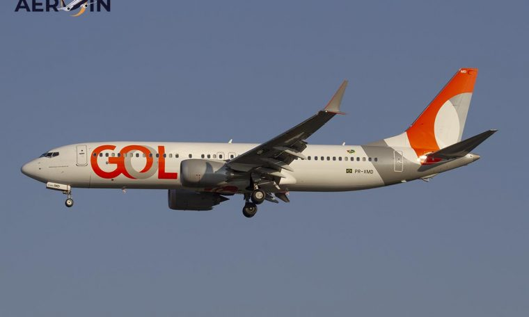 GOL today receives its first aircraft with 'PS' prefix, a jet that will go to India