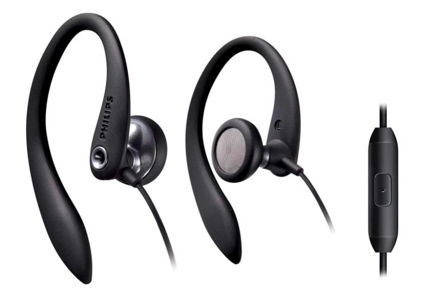Sport Earphones Philips SHS3305B Black (Photo: Disclosure)