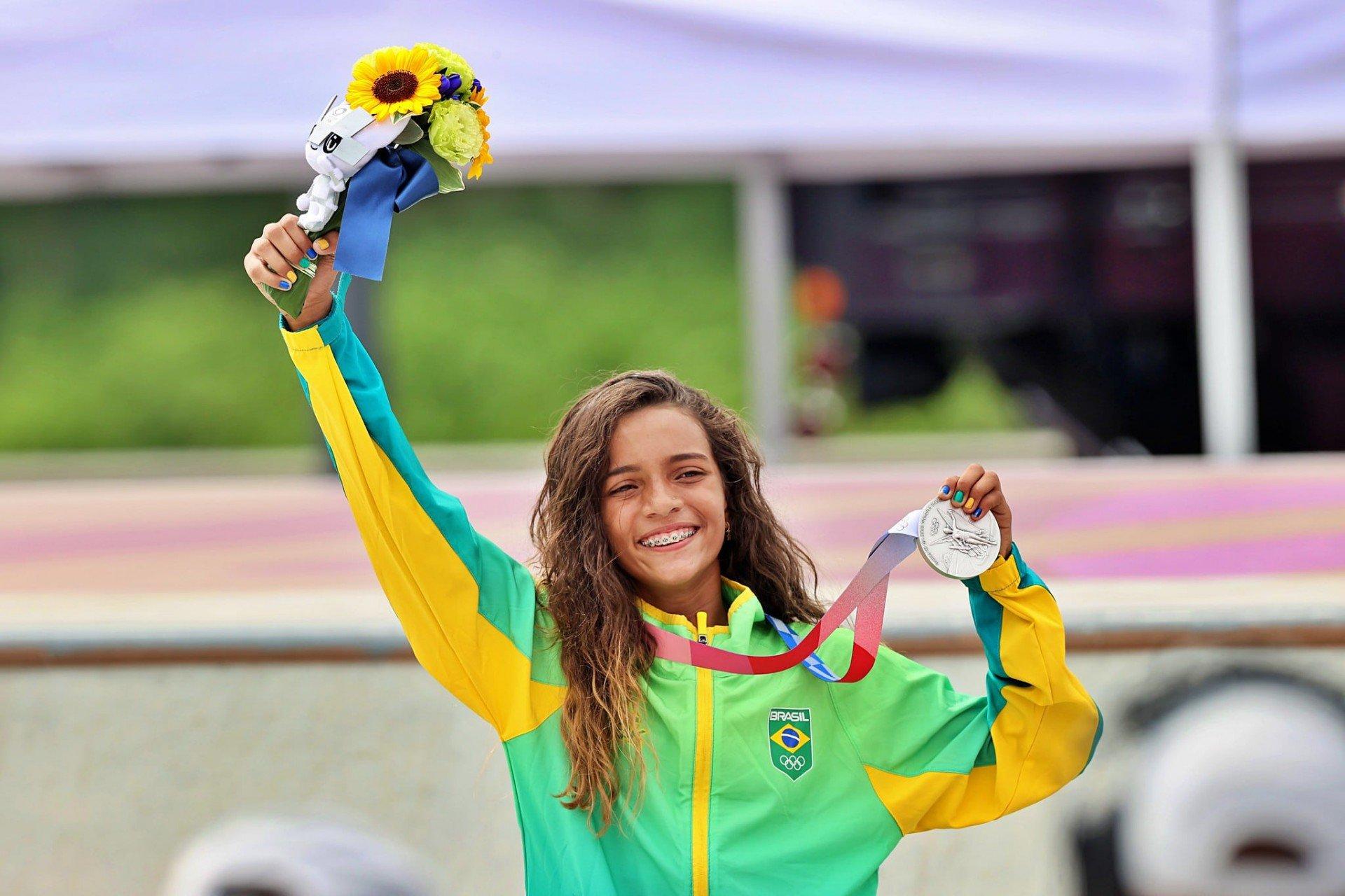 Rayssa Leal wins silver in Tokyo - Breno Barros/rededoesporte.gov.br