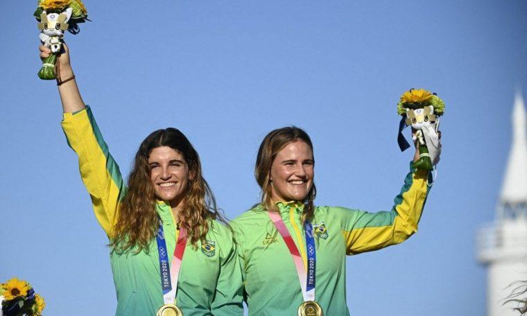 Martine Grael e Kahena Kunze conquistaram a segunda medalha de ouro nas Olimpíadas