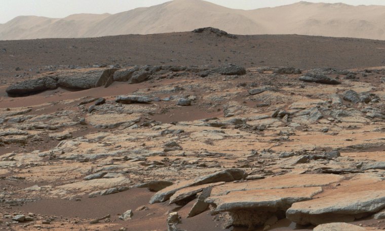 Curiosity rover data may indicate a different past for Gale Crater