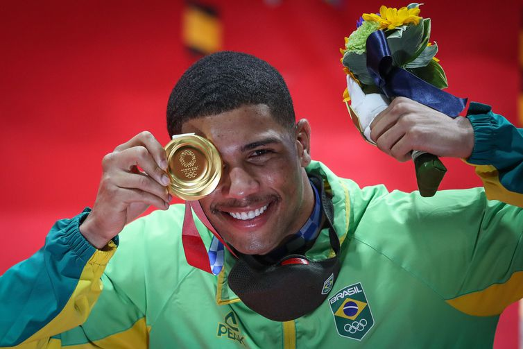 Hebert Concicao - Gold - Boxing - Middleweight (75 kg) - Tokyo 2020 - Olympics