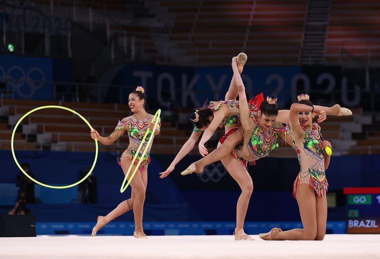 Gymnastics - Rhythmic - Group all-around - Qualification - Rhythmic gymnastics - Brazil - Tokyo - Olympiad