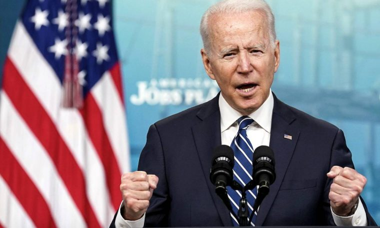 USA: Biden celebrates 200 days of government and says it's getting the economy back