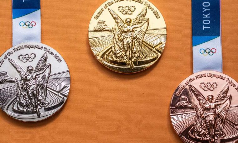 Coincidence or not?  Ranking of medals and the world's largest economies