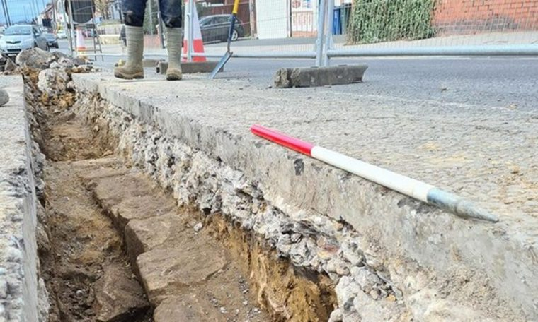 Hadrian's Wall discovered at the bottom of a busy street in England - SoCientífica