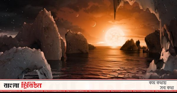 Discovery of 6 Earth-sized planets, possibility of existence of life
