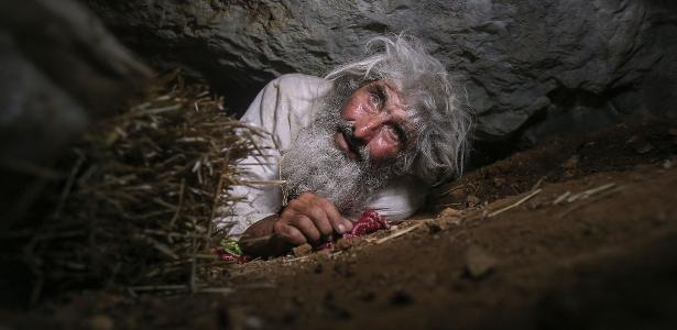 The elderly living in the caves got the vaccine of Kovid