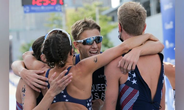 USA wins mixed relay at Montreal stage of World Triathlon Circuit