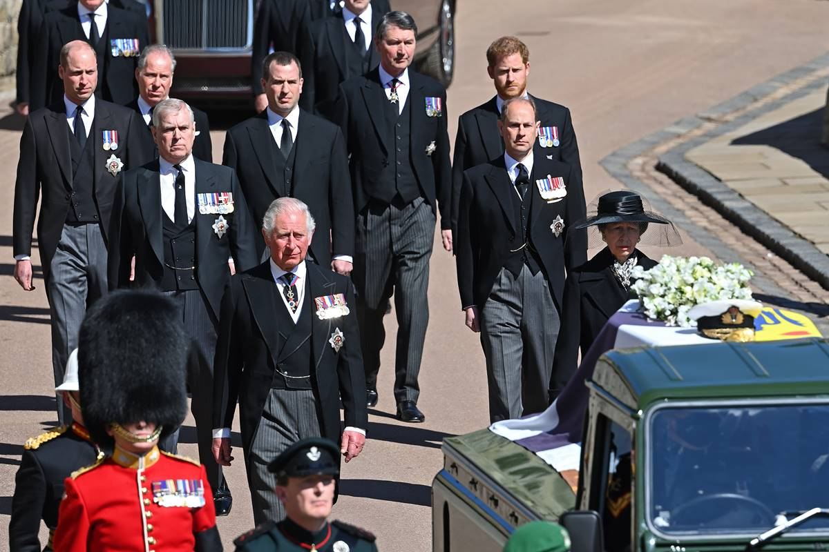Philip's funeral, not Prince Charles