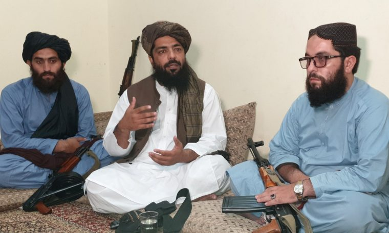 'There will be no democracy, the law is Sharia and that's all' says Taliban commander.  World