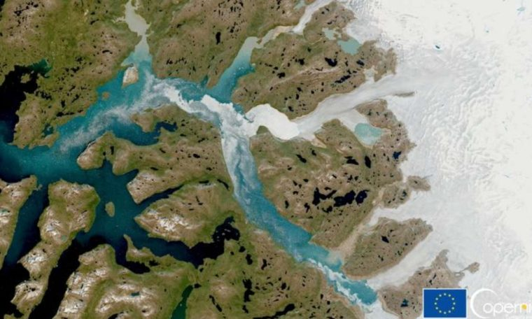 Record of rain for the first time on Greenland's highest peak