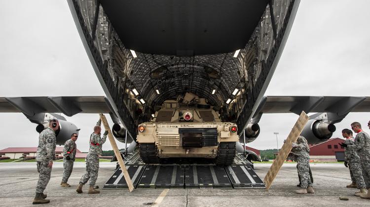 C-17 Tank - Sergeant Richard Wrigley/Press Release/US Army - Sergeant Richard Wrigley/Press Release/US Army