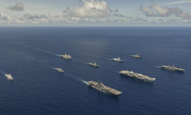 UK and US strike groups unite for massive global exercise (LSGE 21) - Naval Shakti