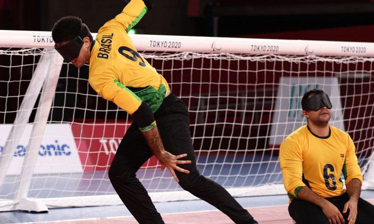 Brasil venceu a Lituânia na estreia no goalball