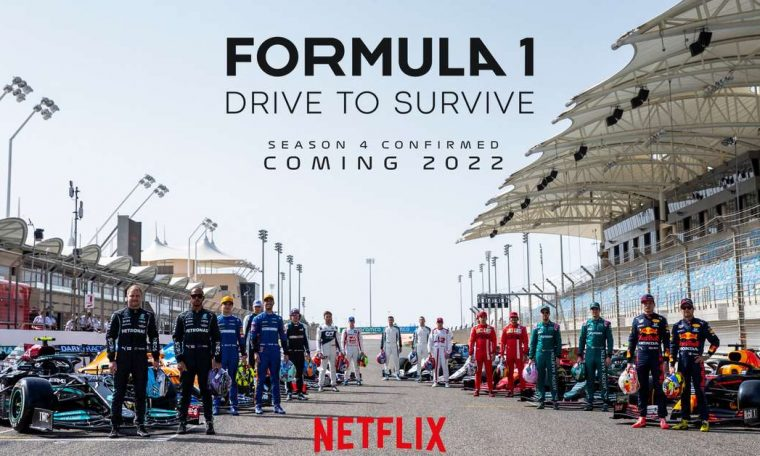 F1 confirms season 4 debut of 'Drive to Survive' on Netflix in early 2022