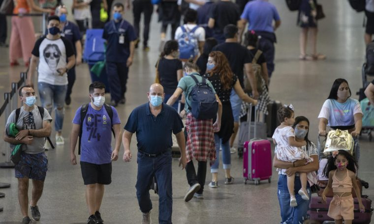 Quarantine in Guarulhos has become mandatory for people coming from the United Kingdom, South Africa or India