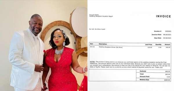 Groom sends R$ 1,250 bills to non-ceremonial guests - International