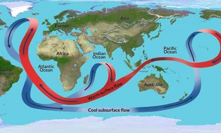 A slowdown in ocean currents in the Atlantic could have disastrous consequences, warns a German study - VTM.cz