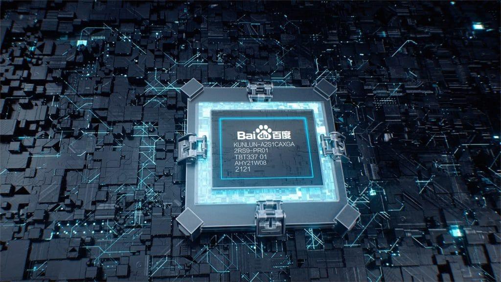 Figure 1: Baidu introduces its Kunlun II processor