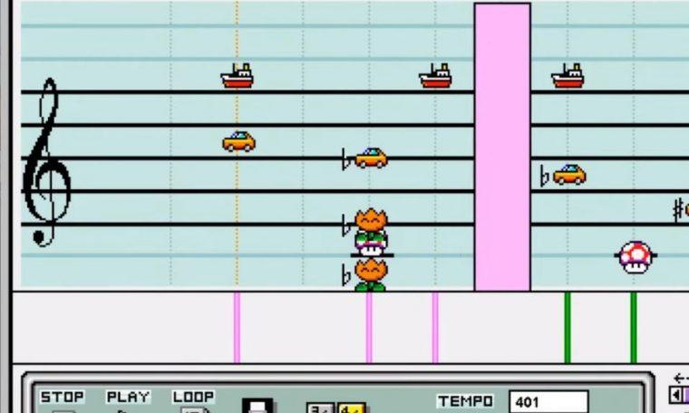 Imagem de: Brasileiro recria tema da Grande Família no Mario Paint de SNES