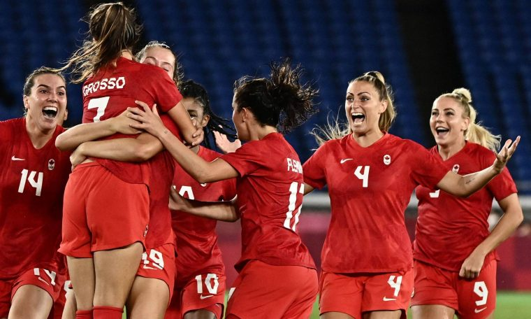 Canada beat Sweden in women's football and won its first Olympic title - 08/06/2021 - SPORTS