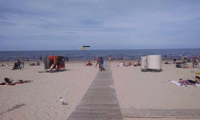 Latvia Has a Beach: Visit Jurmala, a city in the Baltic Sea where Latvians play volleyball and Soviet dictators spend their holidays.  World