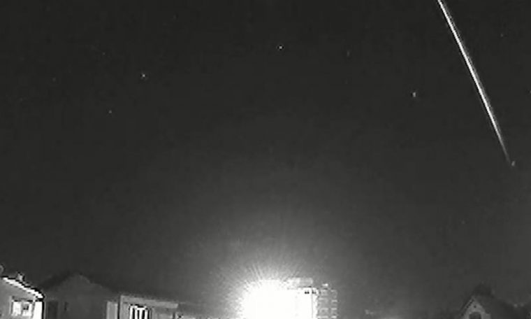Meteor flies over Blumenau at a speed of more than 200 thousand km / h
