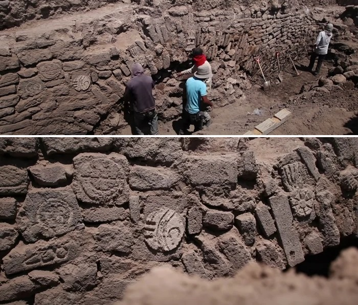 Mexican archaeologists found tunnel