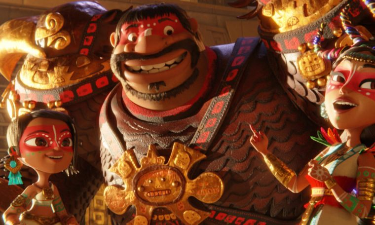 Netflix released the trailer of the film Maya and the Three Warriors, watch!
