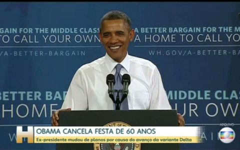 Obama cancels birthday party due to Delta Edition advance.  World