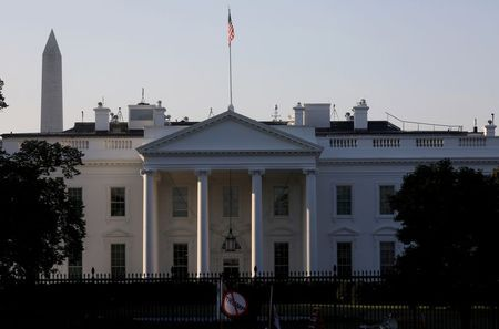 Visão geral da Casa Branca, em Washington