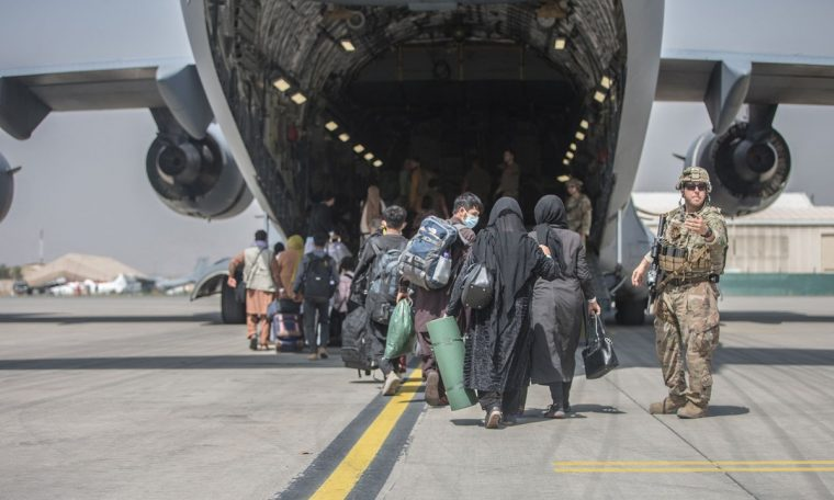 US intensifies operations in Afghanistan, evacuated about 16,000 people in 24 hours.  World