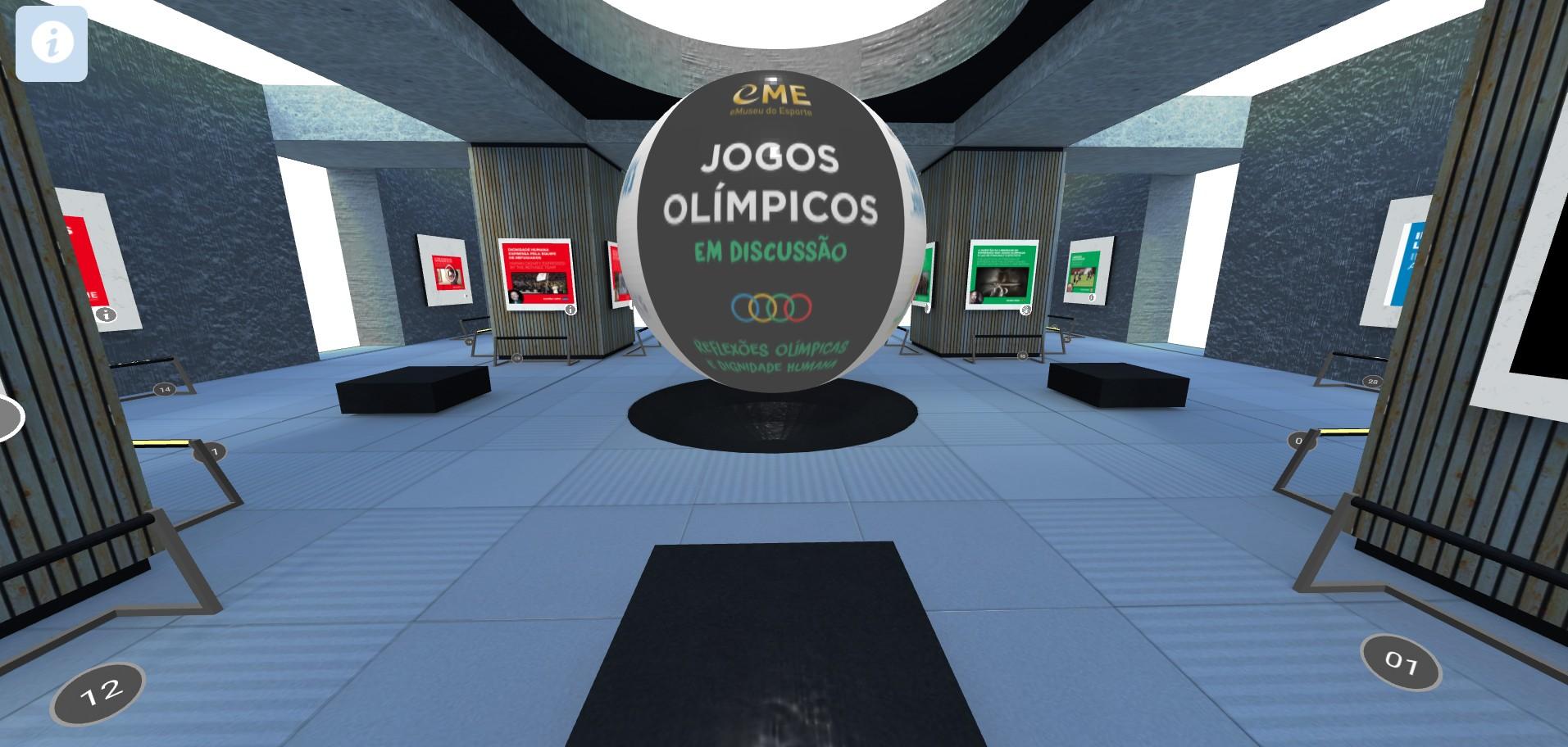 The virtual exhibition encourages debate on the social agenda at the Olympics (Photo: Reproduction / eMuseu do Esporte)