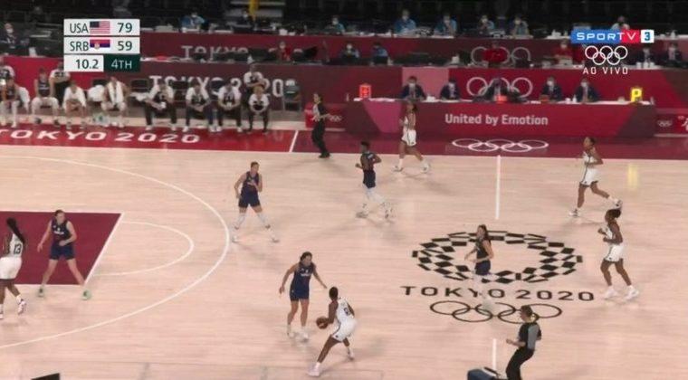 Women's basketball: USA dominates Serbia and advances to final