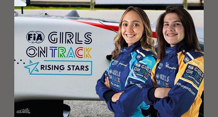Antonella Bassani e Júlia Ayoub representarão o Brasil novamente no FIA Girls on Track - Rising Sun