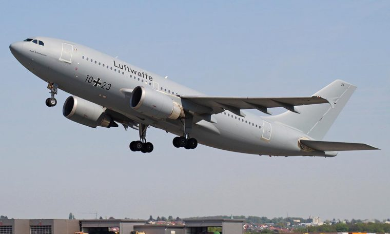 The mighty German Air Force's Airbus A310 aircraft to be built at the zoo