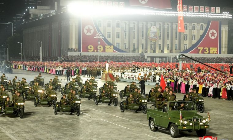 Machines, not weapons, shown at North Korea's anniversary parade;  View Photos |  World